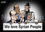we love syrian people