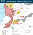 Russian Airstrikes 30 SEPT 2015